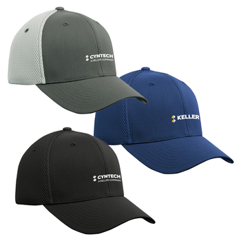 ATC<sup>™</sup> by Flexfit<sup>®</sup> Ultrafibre & Airmesh Cap - This 6-panel cap has air mesh on the side and rear panels making it breathable and lightweight.