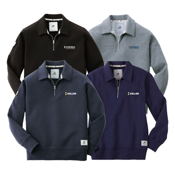 Killarney Unisex Roots73 Flc Qtr Zip - Stay comfortable inside or outside with this unisex quarter zip.