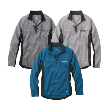 Men's Birchlake Roots73 Tech Qtr Zip - Fashionable functionality makes this 100% micro polyester melange interlock knit top so impressive.