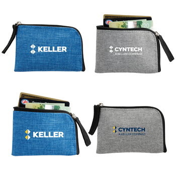 RFID Blocker Card Pouch - The RFID Blocker Card Pouch is great for storing cash, credit cards, or other small accessories.