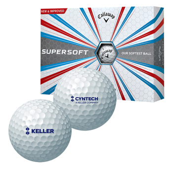Callaway Supersoft - Box of 12 Balls - The softest golf ball made by Callaway to date, the 38 compression Supersoft golf ball is poised to take your game to all new distances.
