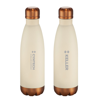 Cutter & Buck<sup>&reg;</sup> Bainbridge Copper Vac Bottle 17oz - Just like the ever-changing weather in the pacific northwest, the Bainbridge collection is rich in contrasts.